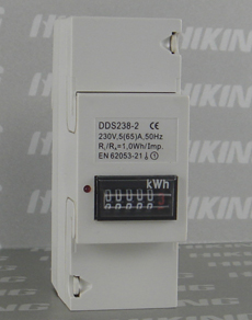 DDS238-2 Single Phase DIN-rail KWH Meter (Single Phase DIN-rail Meter, Single Phase DIN-rail Watt-hour Meter, Single Phase DIN-rail Energy Meter)