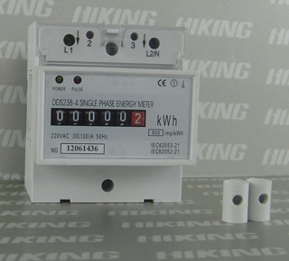 DDS238-4 Single Phase DIN-rail KWH Meter (Single Phase DIN-rail Meter, Single Phase DIN-rail Watt-hour Meter, Single Phase DIN-rail Energy Meter)